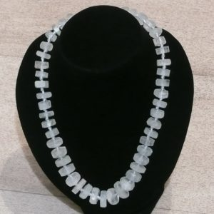 Collier en aigue-marine