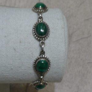 Bracelet en Malachite